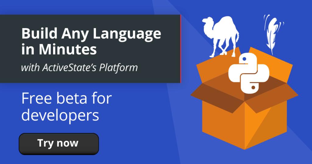 Activestate-platform-any-language