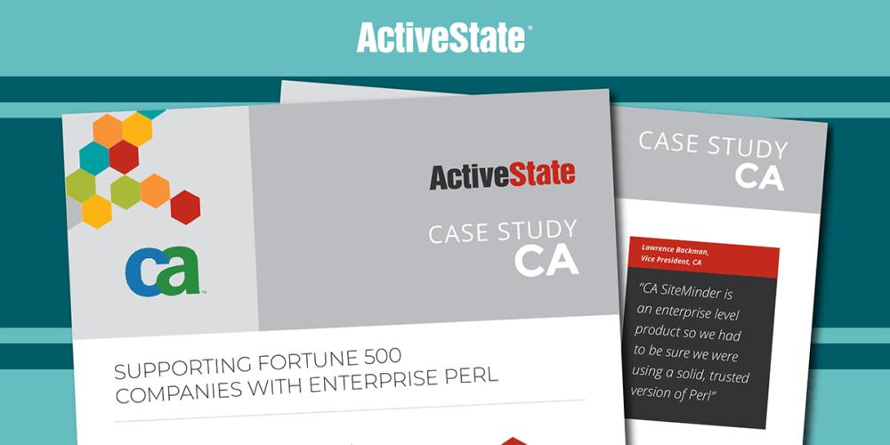 CA Case Study – ActivePerl