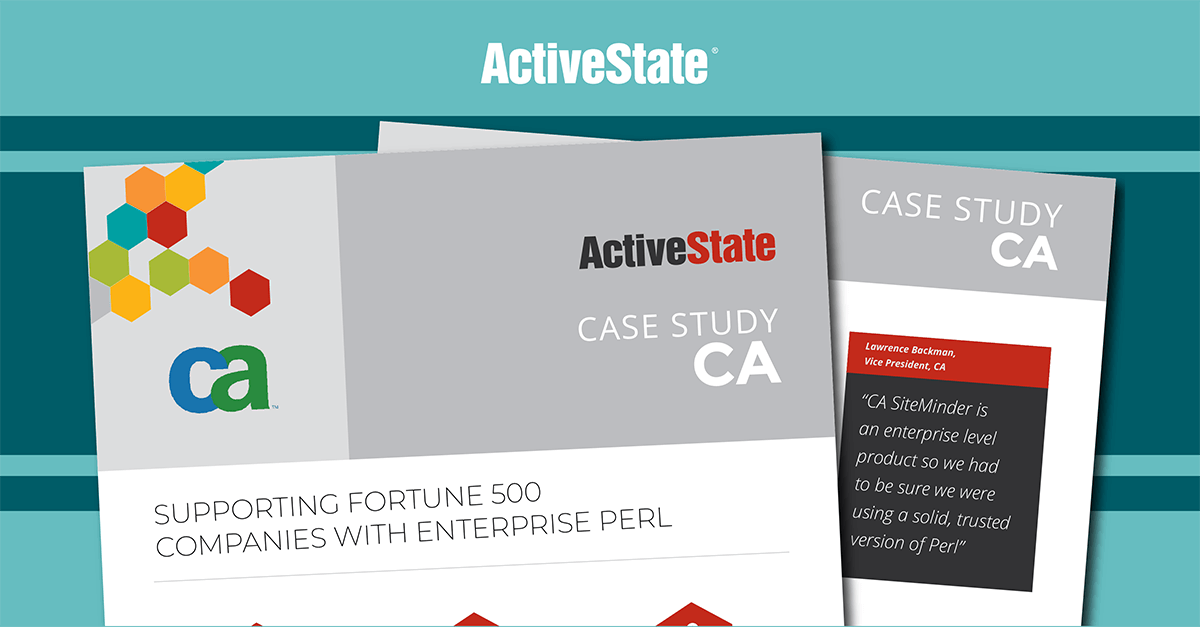 CA Case Study – ActivePerl