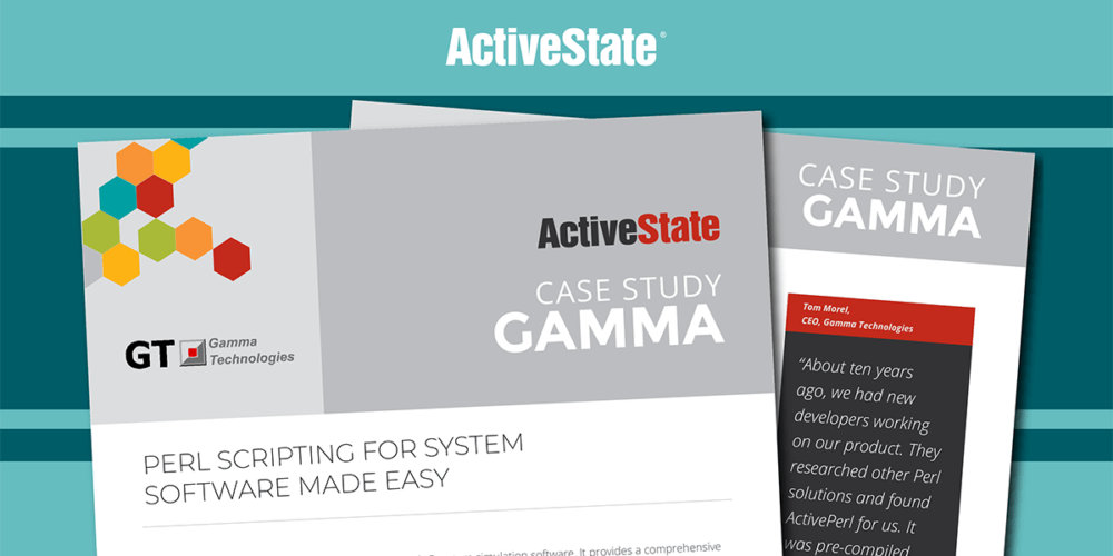 Gamma Technologies Case Study – ActivePerl