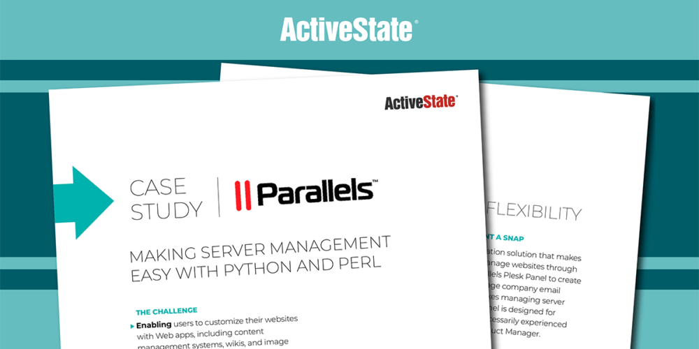 Parallels Case Study – ActivePython, ActivePerl