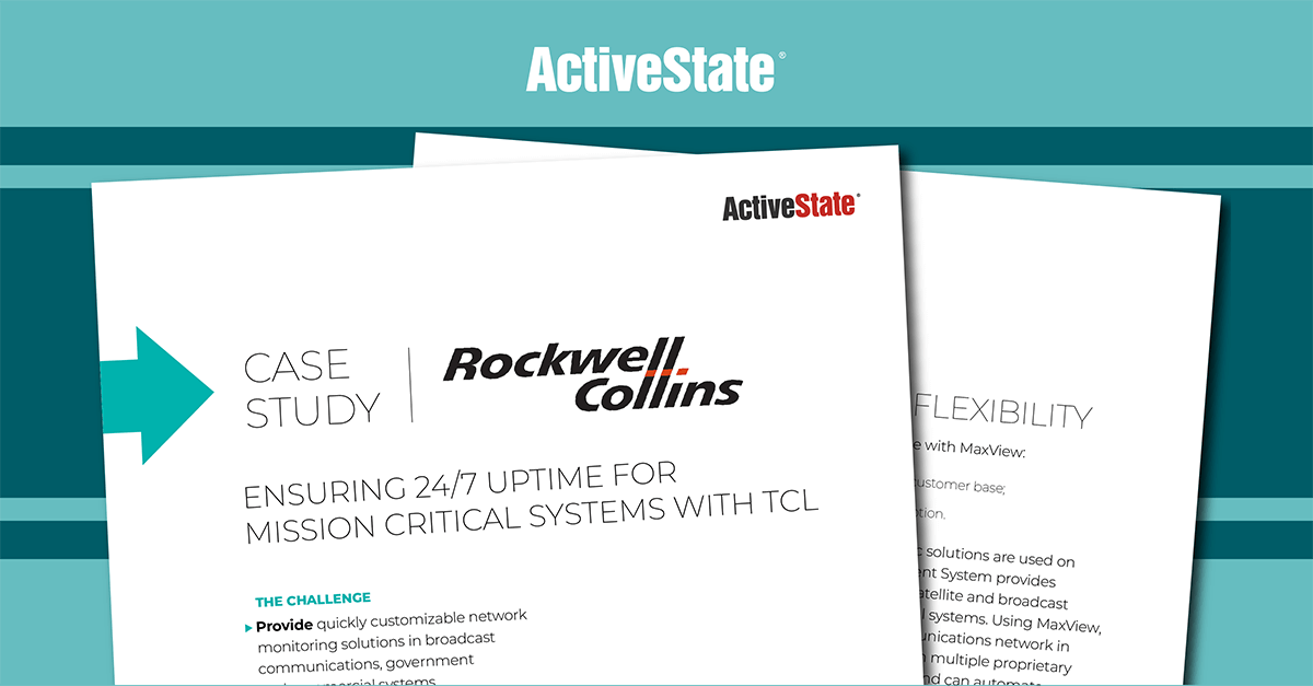 Rockwell Collins Case Study – ActiveTcl