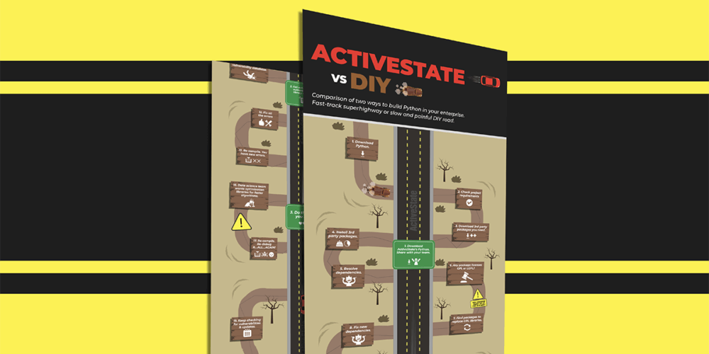 Infographic: ActiveState vs DIY Open Source