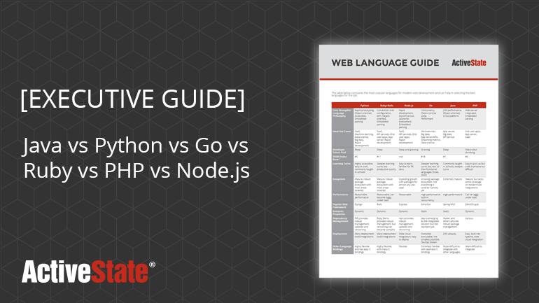 web languages guide
