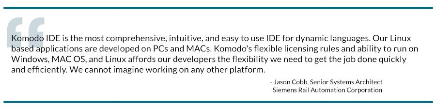 Komodo IDE Dev Teams