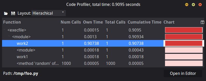Speed Up Code with Komodo IDE Unoptimized