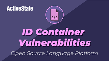 Identify Container Vulnerabilities