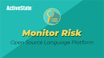 Monitor Risk in your Open Source Code