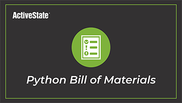Python Bill of Materials