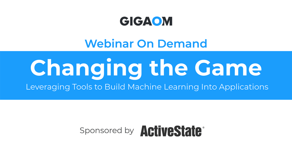 Webinar: Changing the Game – Leveraging Tools to Build Machine Learning Into Applications
