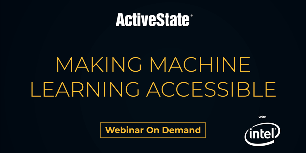 Webinar: Making Machine Learning Accessible