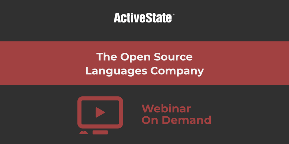 Webinar: The Open Source Languages Company