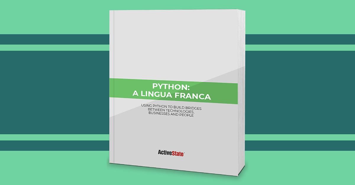 White Paper - Python - A Lingua Franca