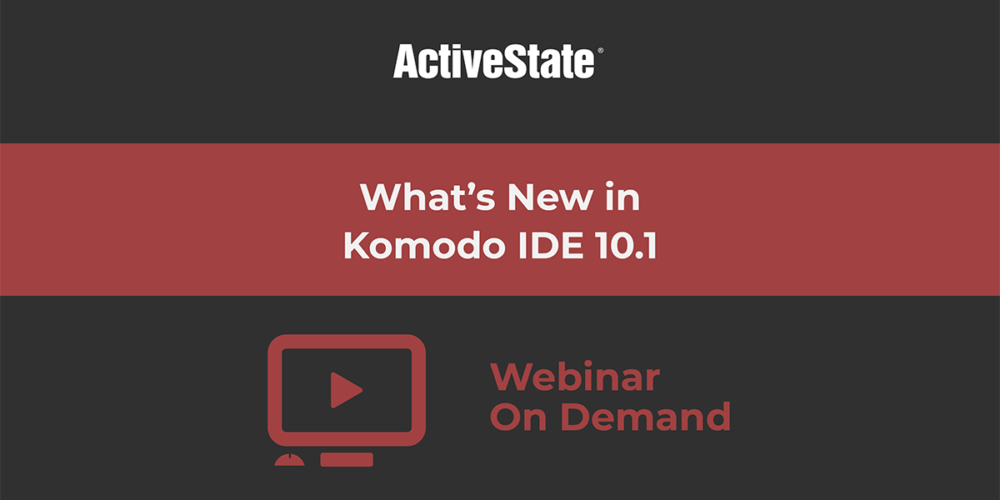 whats new komodo ide 10 webinar