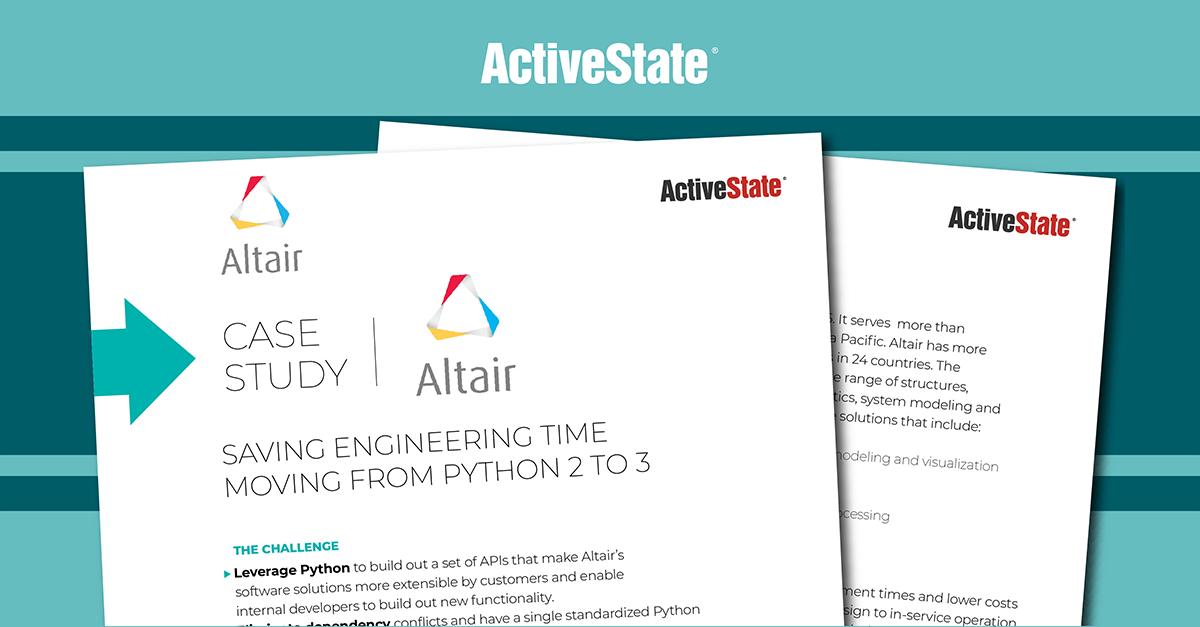 Altair Case Study - ActivePython