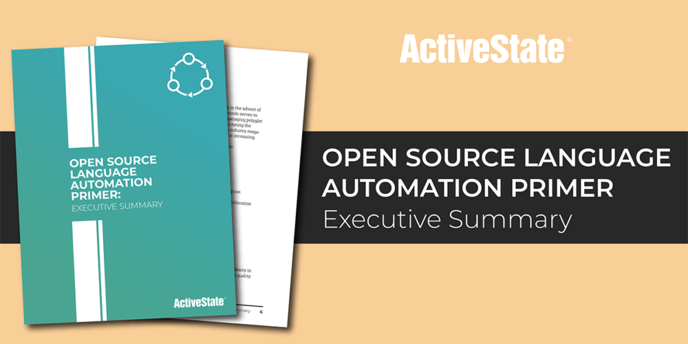 Open Source Language Automation Primer: Executive Summary