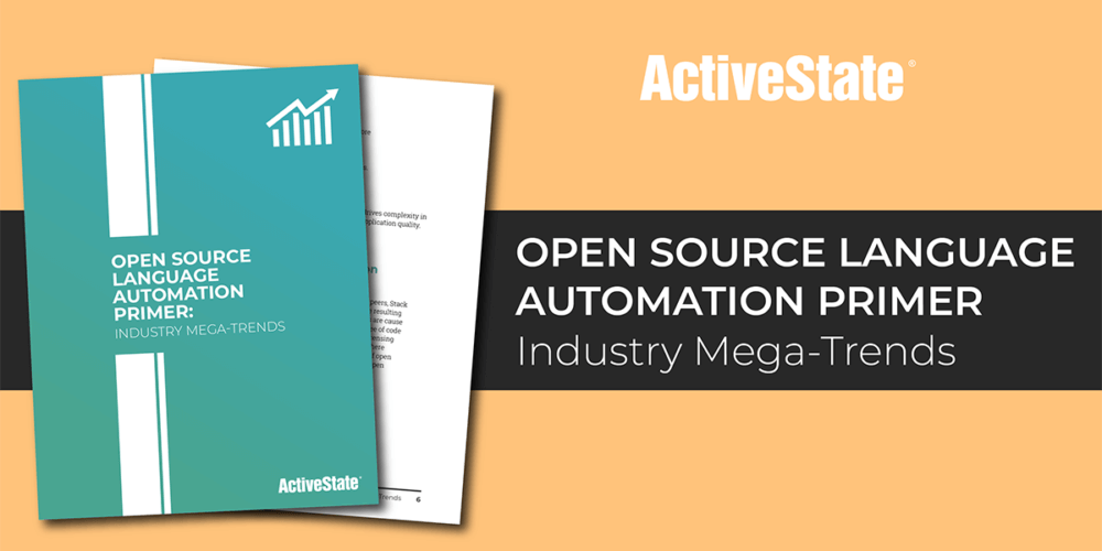 Open Source Language Automation Primer: Industry Mega-Trends