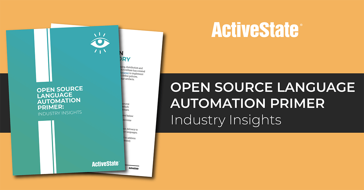 Open Source Language Automation Primer: Industry Insights