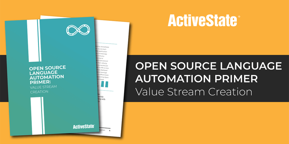 Open Source Language Automation Primer: Value Stream Creation