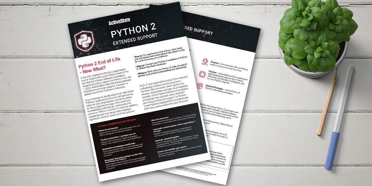 Python 2 extended support Updated cover image