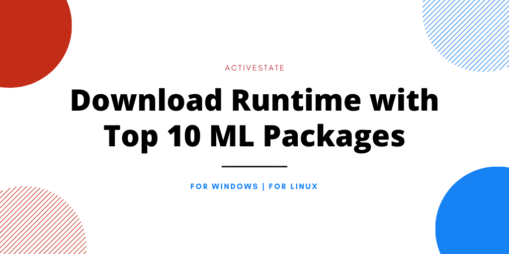 top ML packages runtime