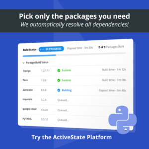 ActivePython Sidebar Platform Graphic