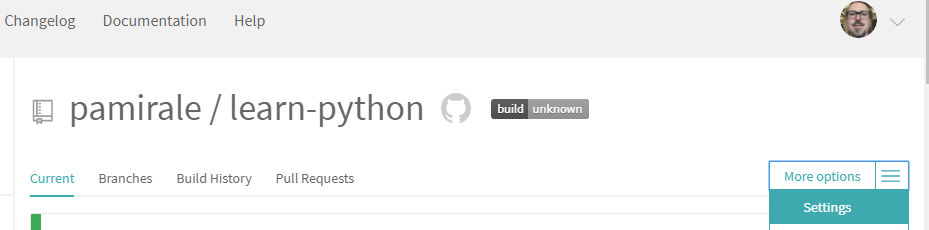 How to Build a CI/CD Pipeline for Python - step 1