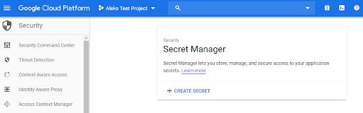 Secret Manager