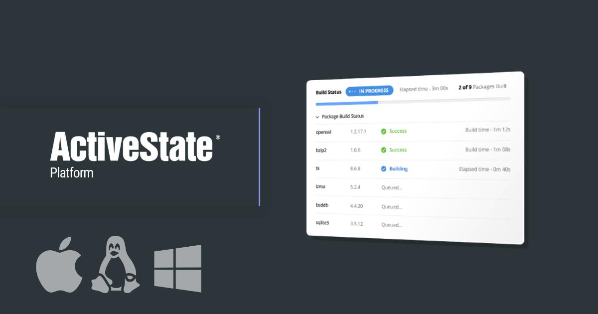 ActiveState's platform