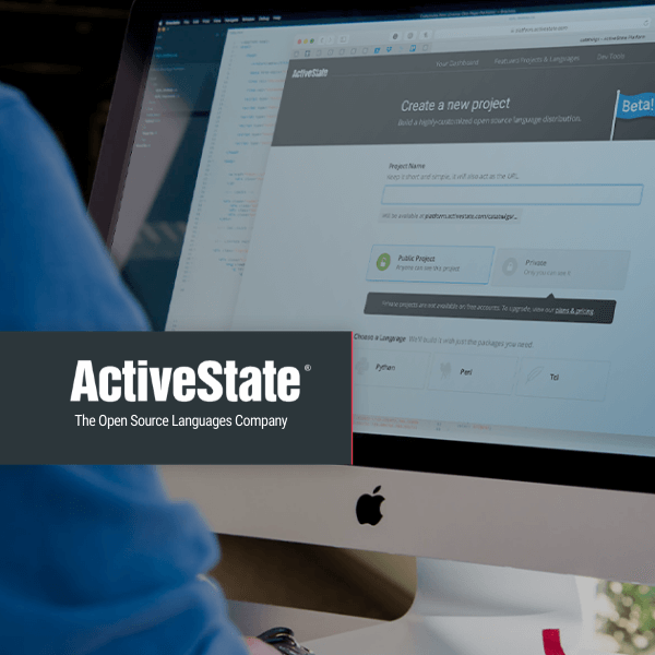 ActiveState platform screenshot