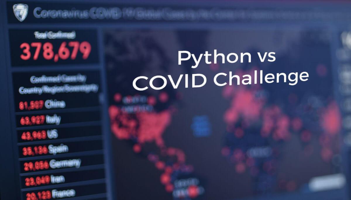 Python versus COVID