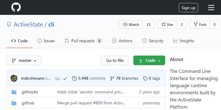 State Tool GitHub Repository