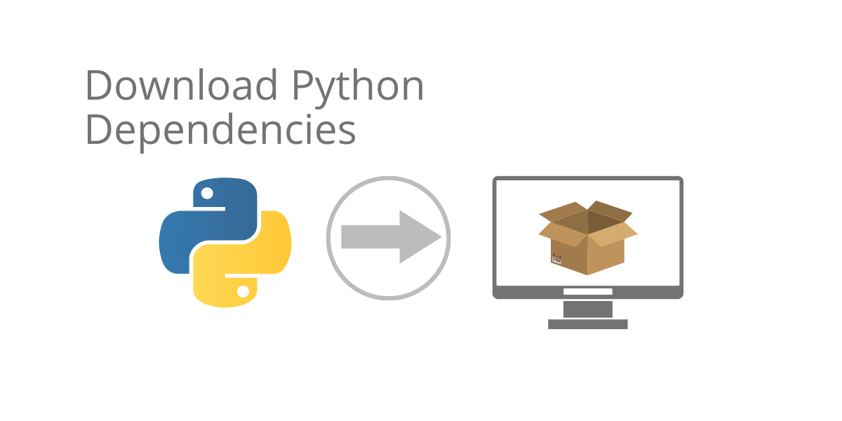 how to download Python dependencies