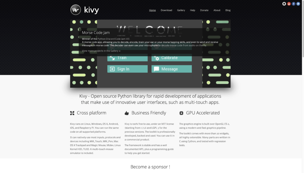 Kivy for Python Mobile development