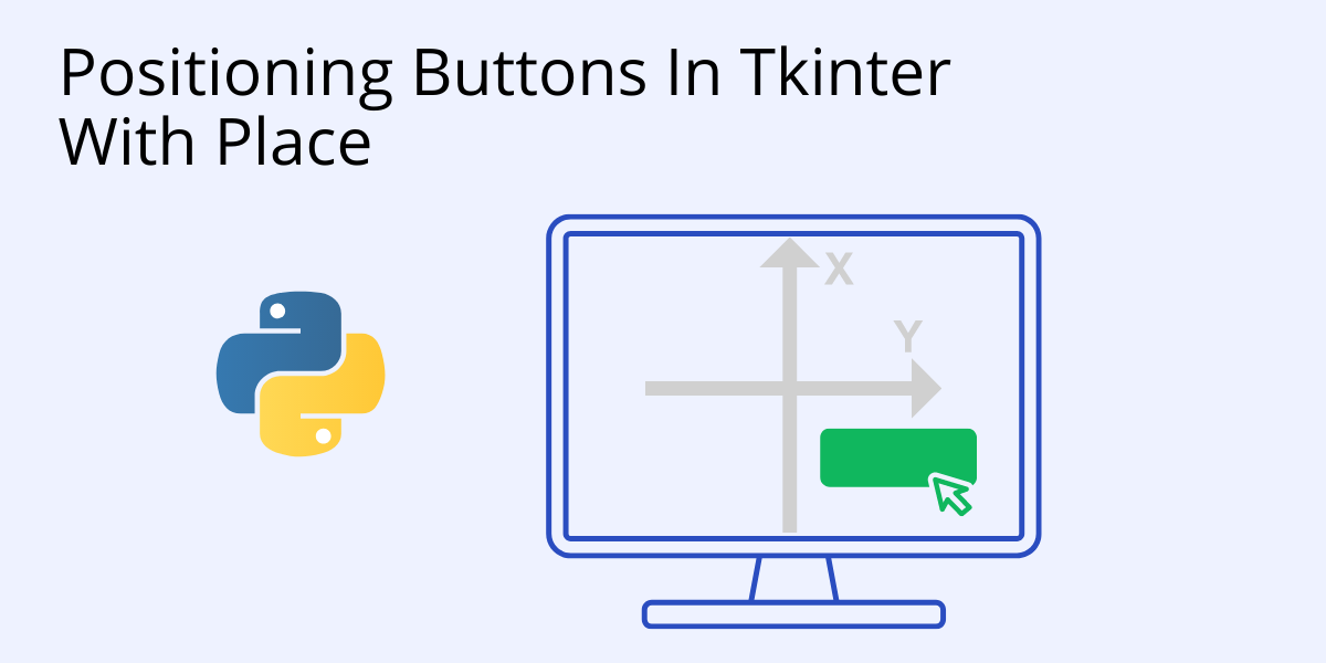 tkinter position with place