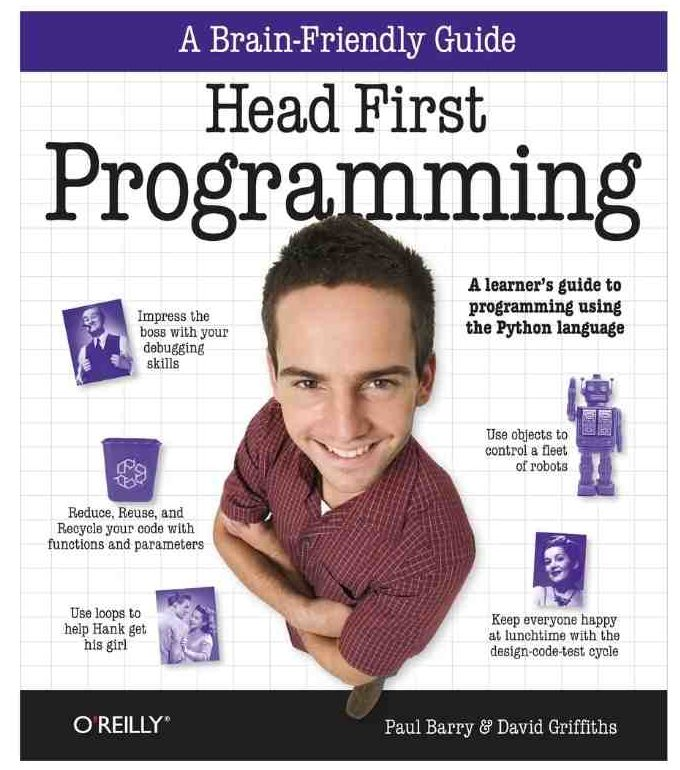 Coding Book: Head First Programming
