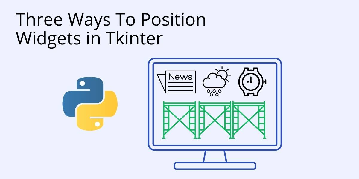 How To Position Widgets in Tkinter QR Cover