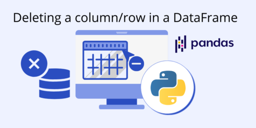 How to Delete a Column/Row From a DataFrame