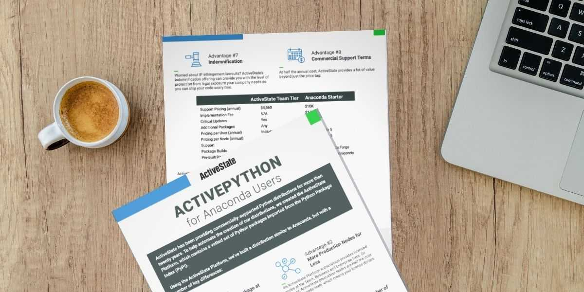 ActivePython vs Anaconda - advantages