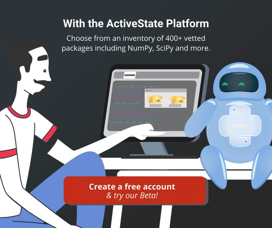 try the activestate platform