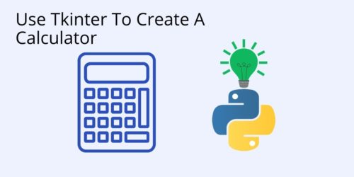 QR - How To Create A Calculator With Tkinter