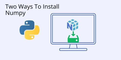 QR How to Install Numpy