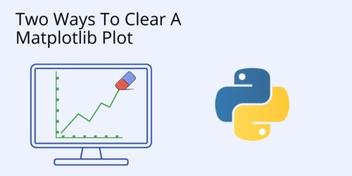 How to clear a plot in Python Cover