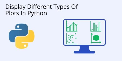 How to display a plot in python cover