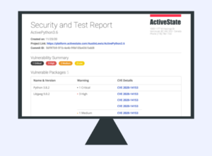 security and test report