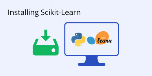 installing scikit learn
