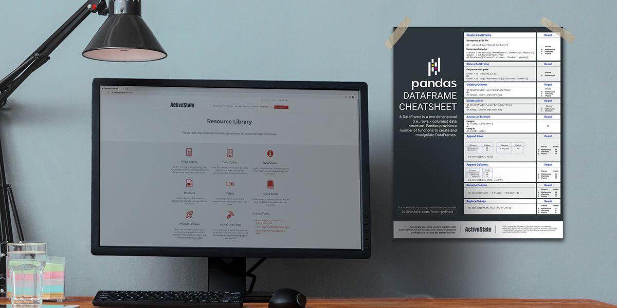 pandas cheatsheet by ActiveState