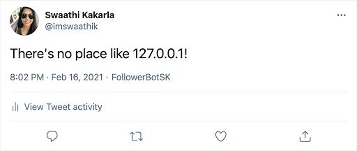 Automated Tweet
