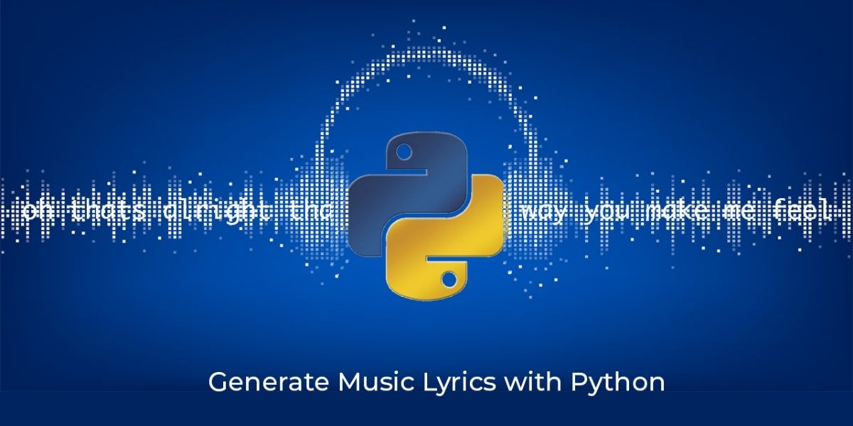 Python lyrics generator