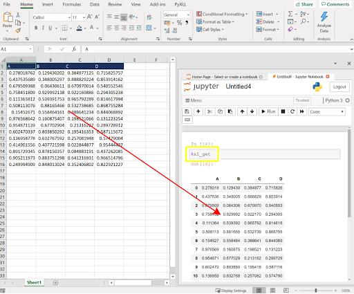 Create a dataframe